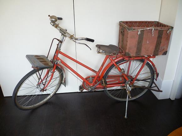 郵便局自転車昭和
